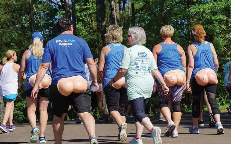 Guts and butts 5k 2019